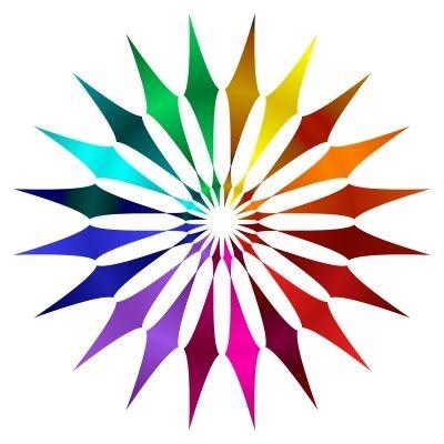 Different Color Wheel Shaped Like Diamonds Color Pinterest