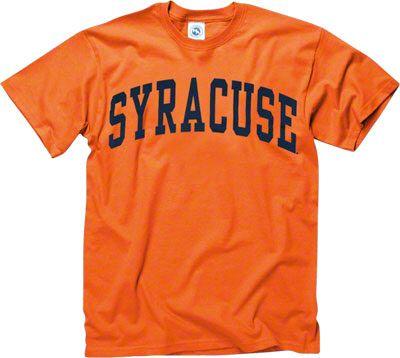 check out 80b42 9e6fa Syracuse Orange Orange Arch T-Shirt | Wishlist | Ncaa ...