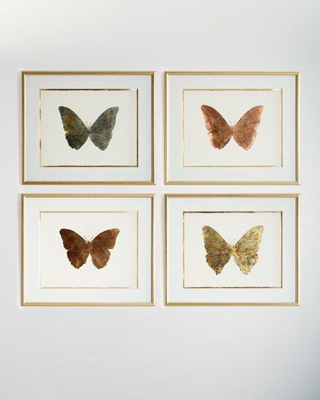 Shimmering Butterfly Iii Artwork Butterfly Artwork Wall Artwork John Richard Collection