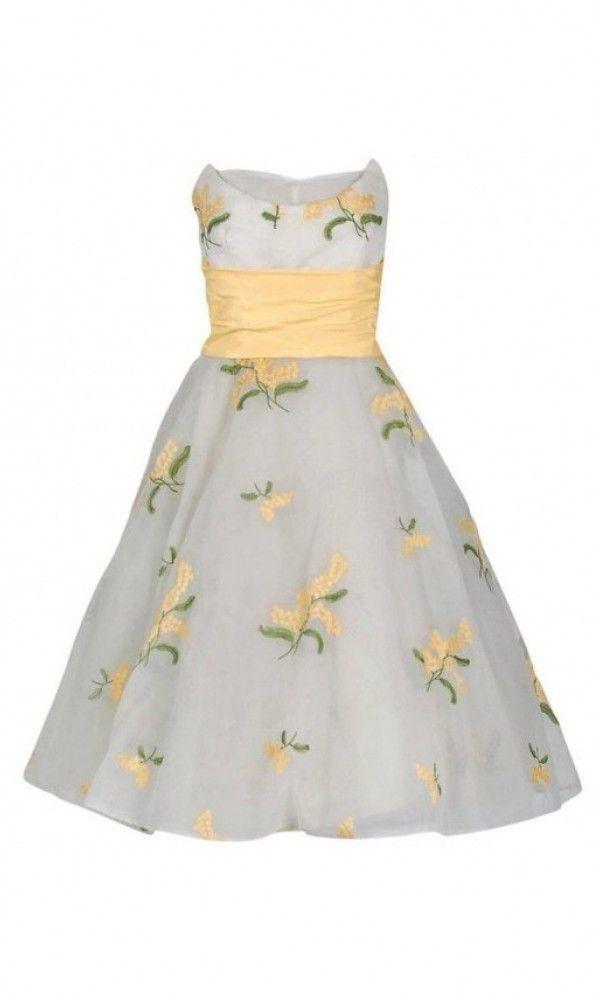 Pin on 1950's Full Skirt Party Dresses