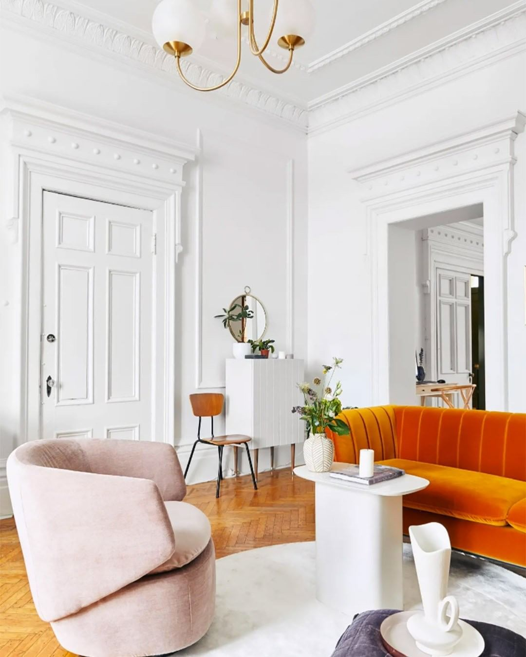 West Elm On Instagram Livingbylo Is Living The Modern Dream In Montreal See How She Mixed Our Pelle Apartment Decor Classic Home Decor Living Decor