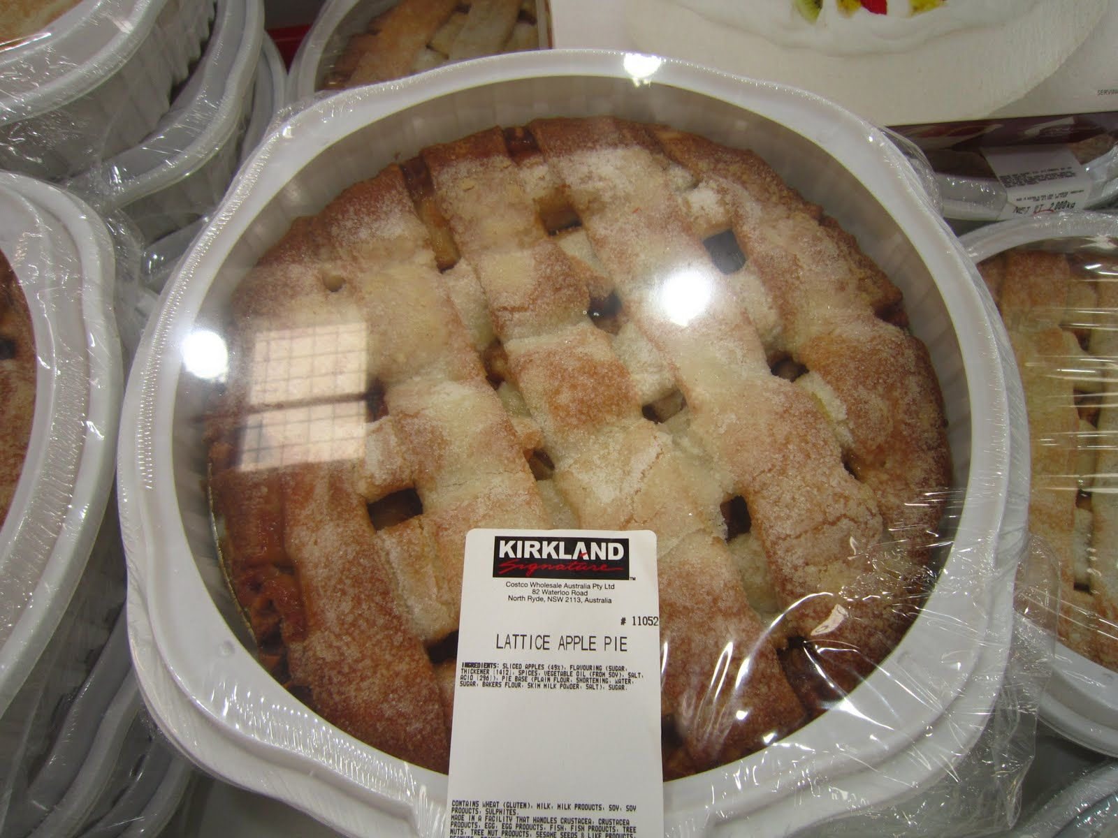 Costco Apple Pie Is Vegan Apple Pie Lattice Food Vegan Pie
