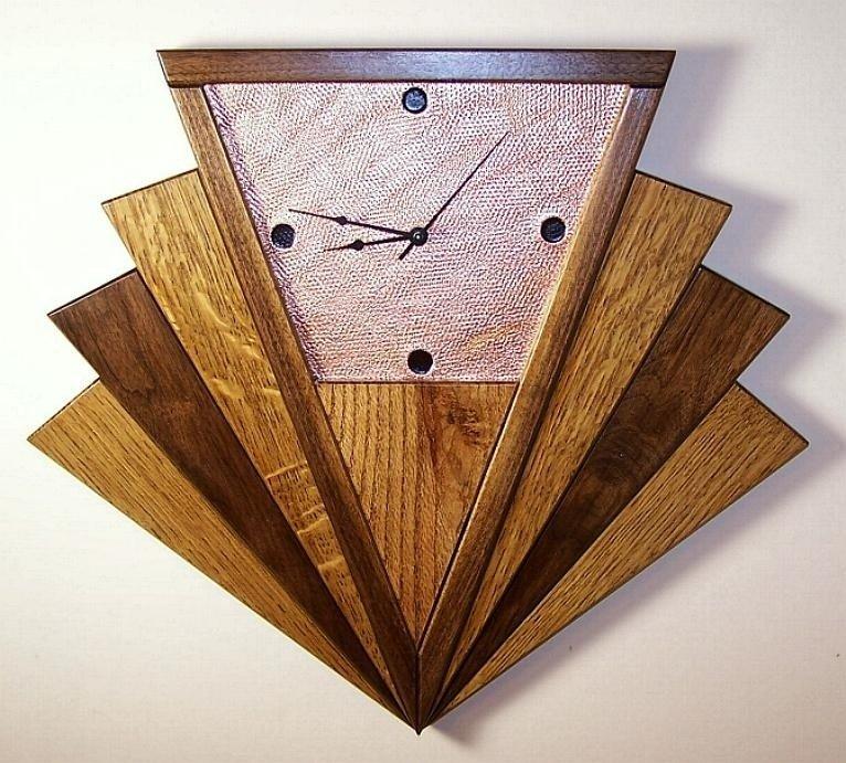 Art Deco Wall Clocks Ideas On Foter Art Deco Clock Wall Clock Art Deco Clock Art