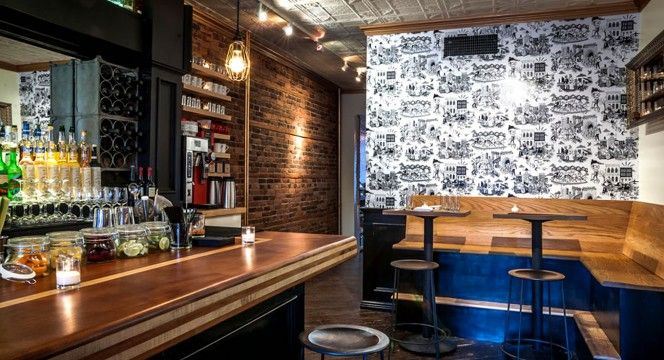 Mexican Restaurant Design of Gran Electrica Brooklyn New York - Mexican Restaurant Interior Design Ideas