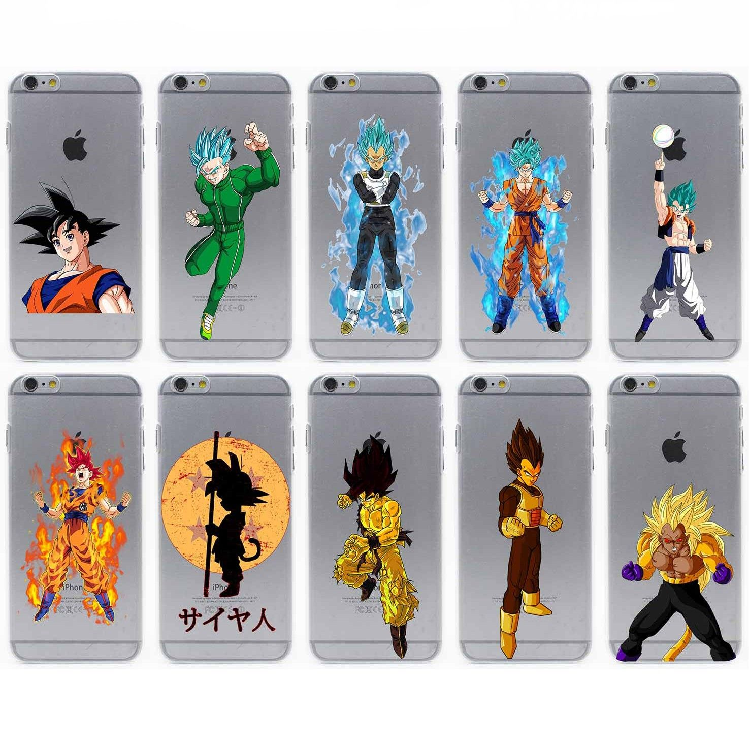 dragonball iphone 8 case