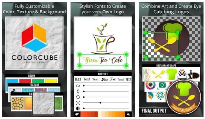 3 aplicaciones de creación de logos para Android Creador