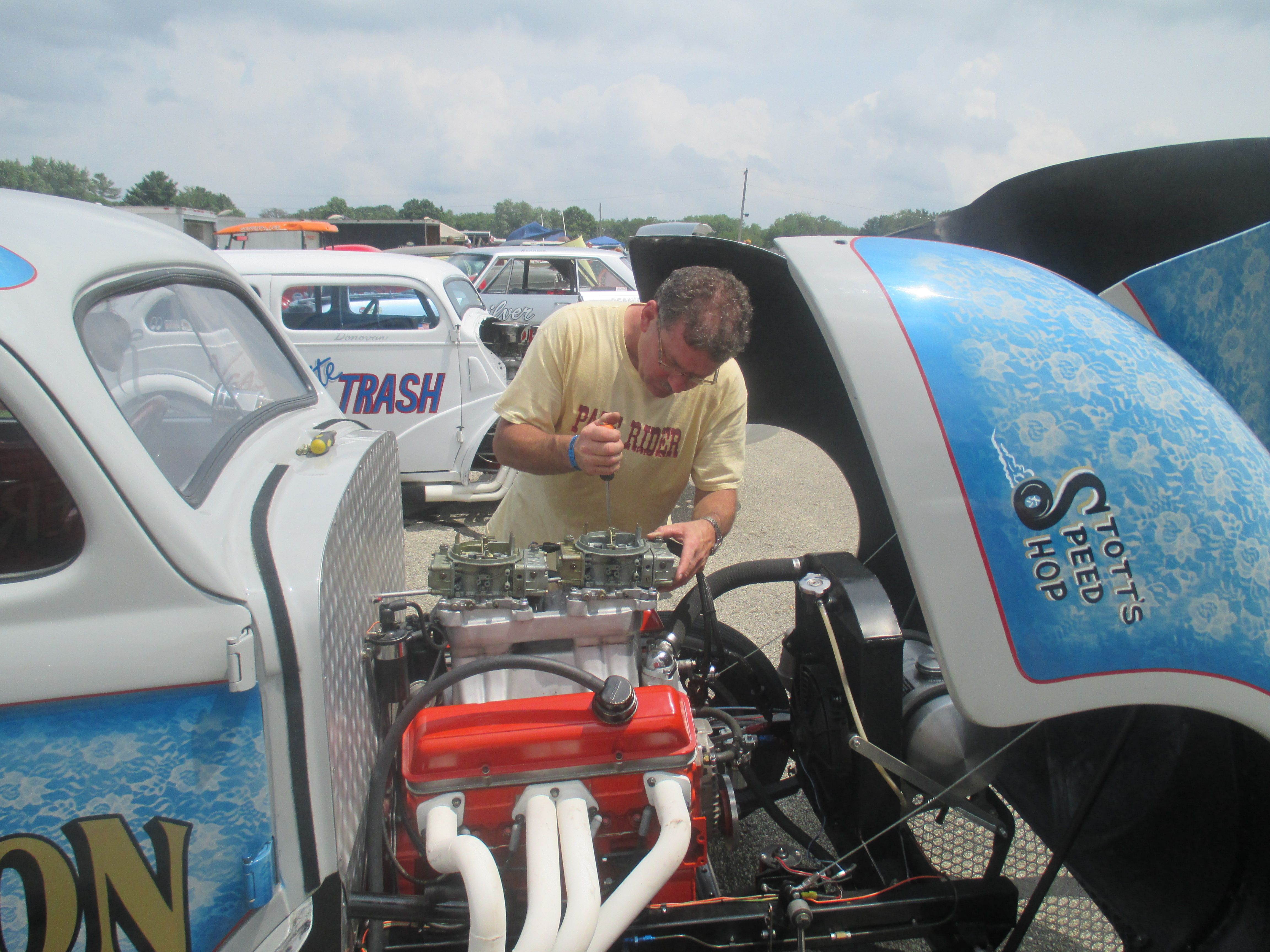 Mr  Stott and the Southeast Gassers! | World Motor Review | Muscle