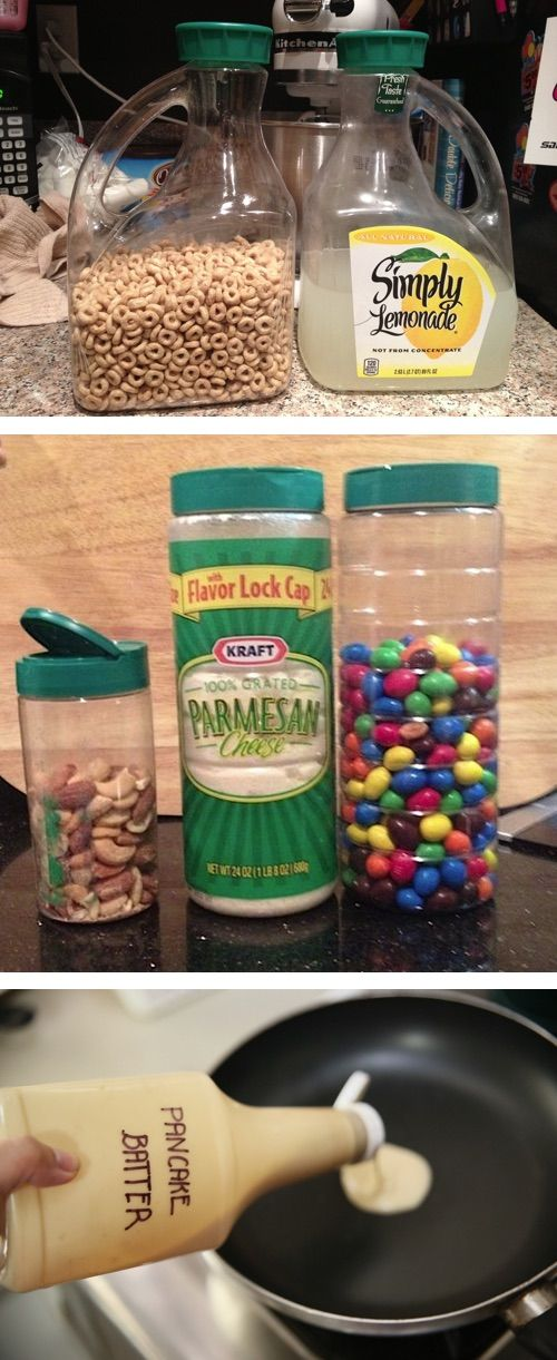 10 Food Containers You Can Upcycle - Why didn't I think of this?! #recycledcrafts
