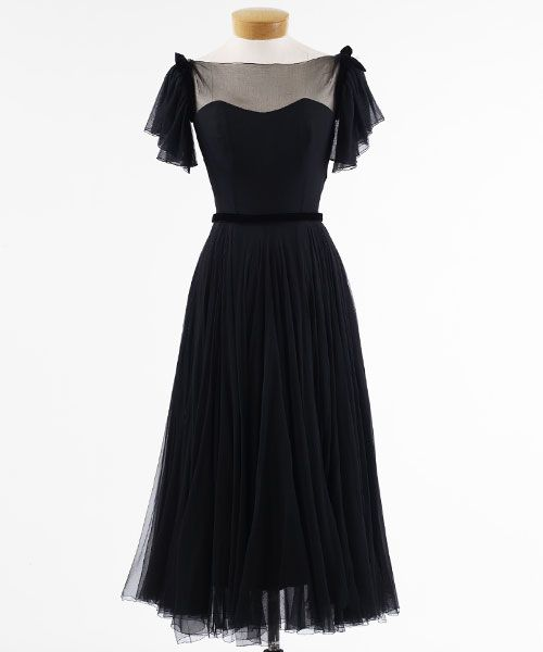 Collection Black Chiffon Dress Pictures - Klarosa
