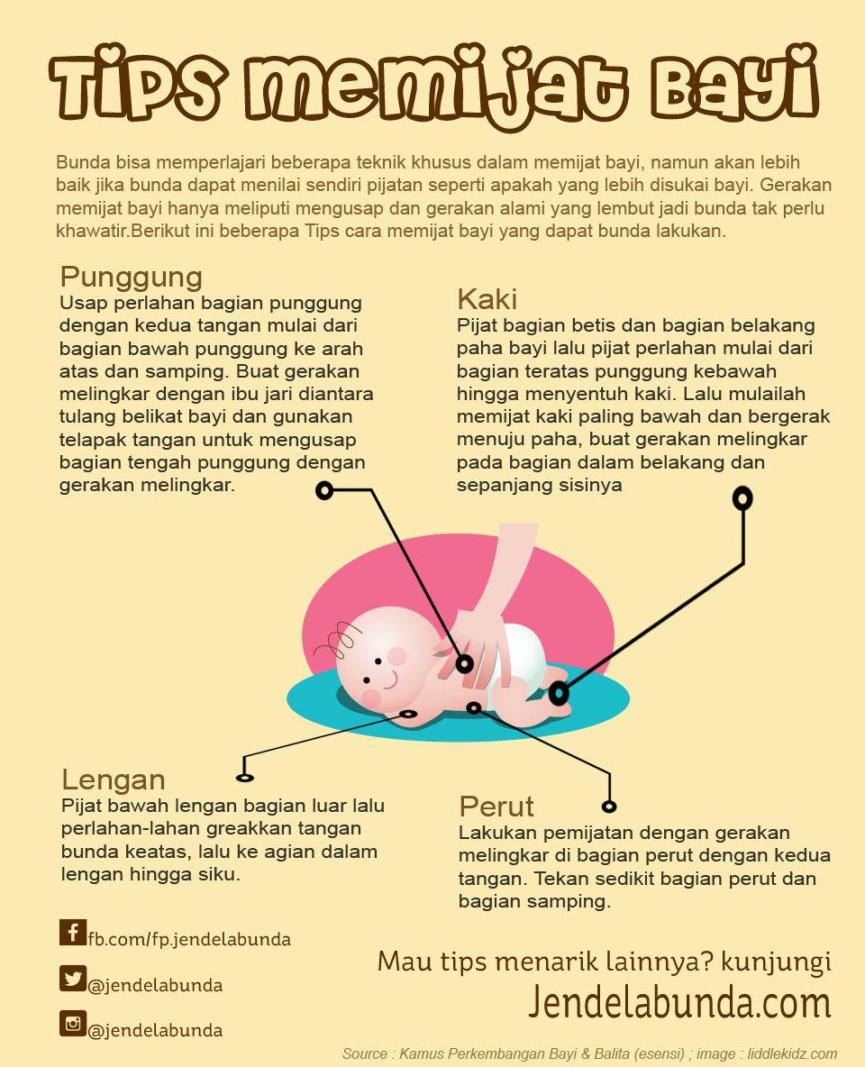 Memijat Bayi Tips Bayi Pinterest Tips And Infographic