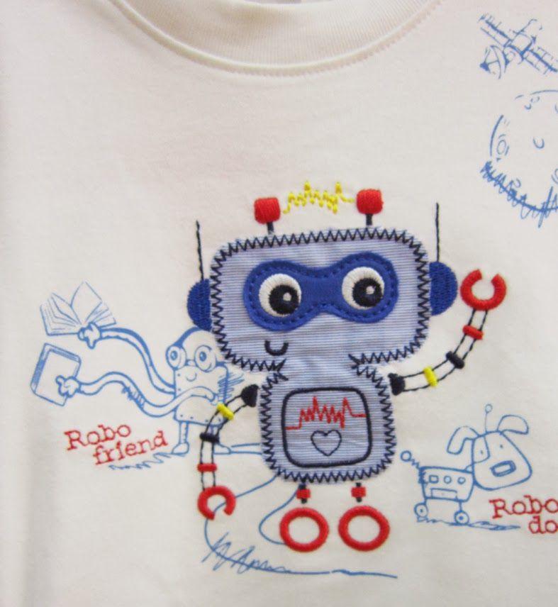 Figi's : Simpático robot atariado de obligaciones con su mascota robótica, uno de los diseños preferidos por los niños en Figi´s Jockey Plaz...