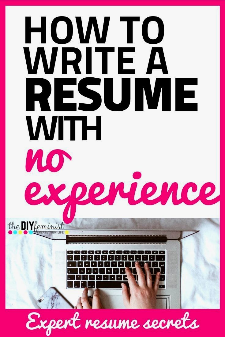 Advice from a former career professional on how to write a