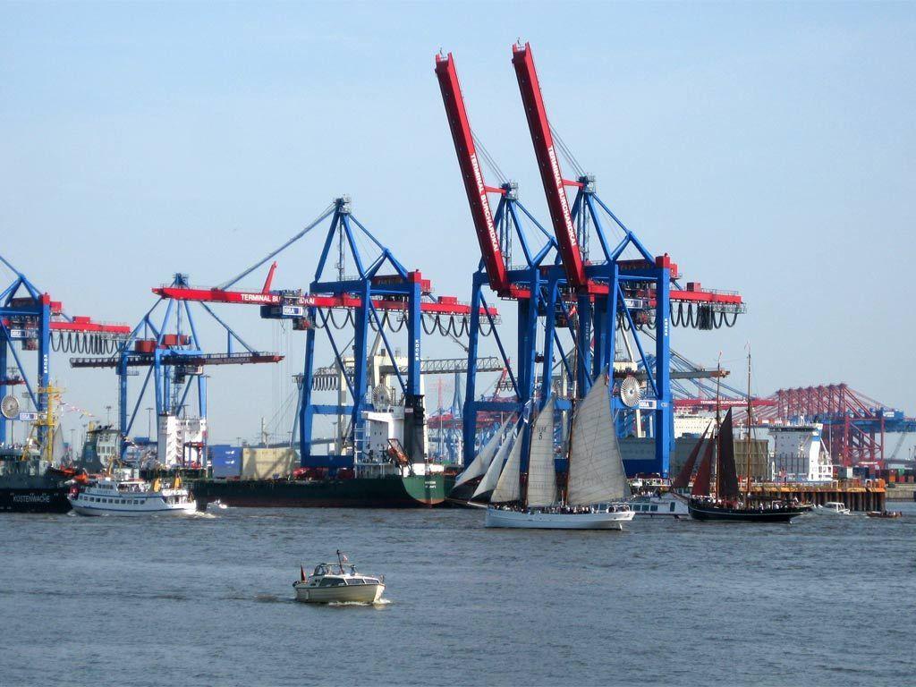 Hamburg. Hafen