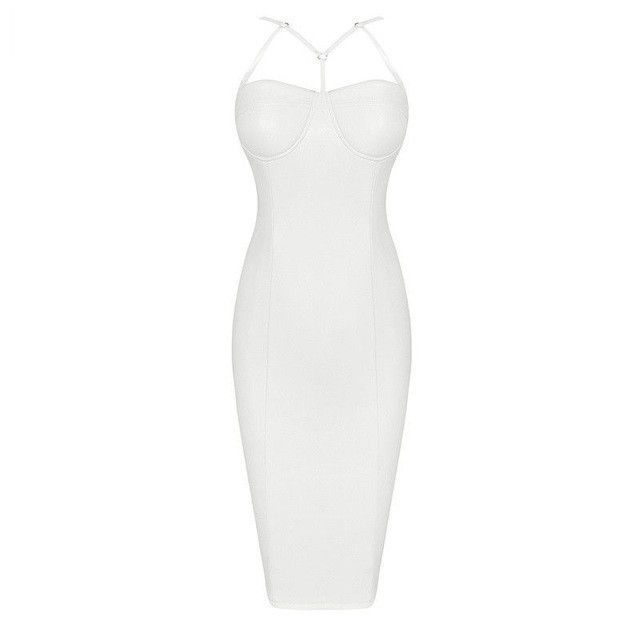 Strap Me Sultry Dress