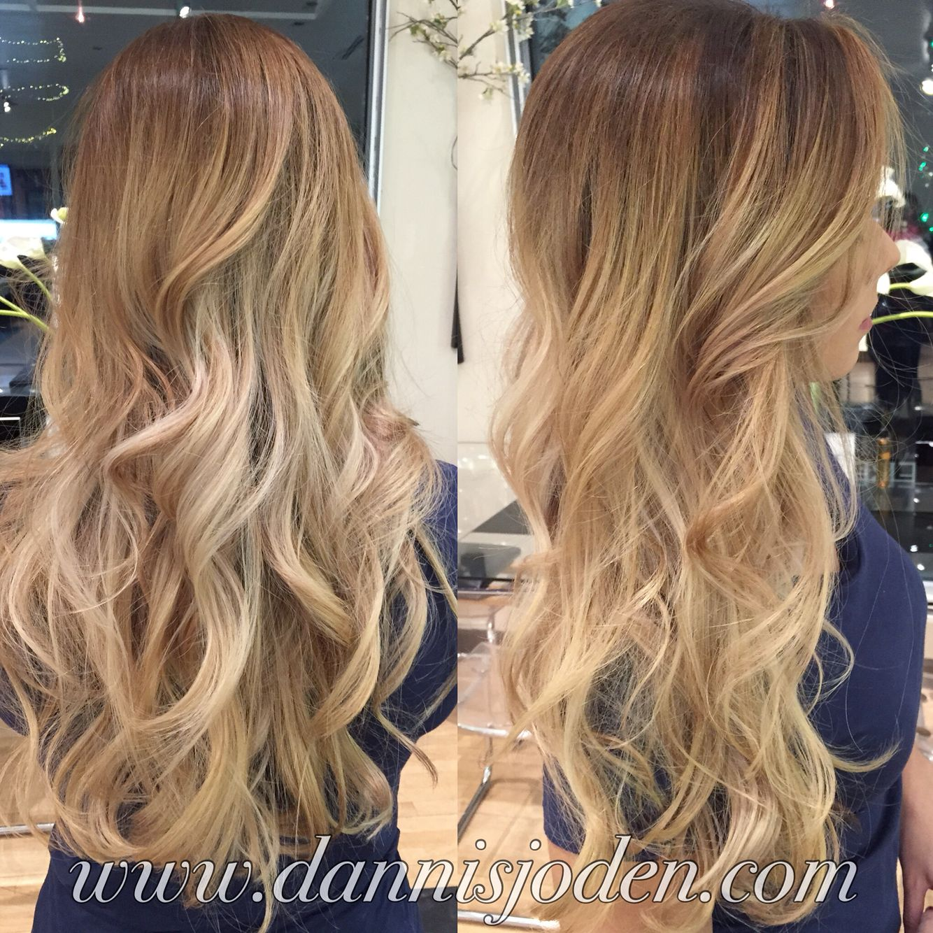 honey hair style bright honey balayage and waves hair by 5080
