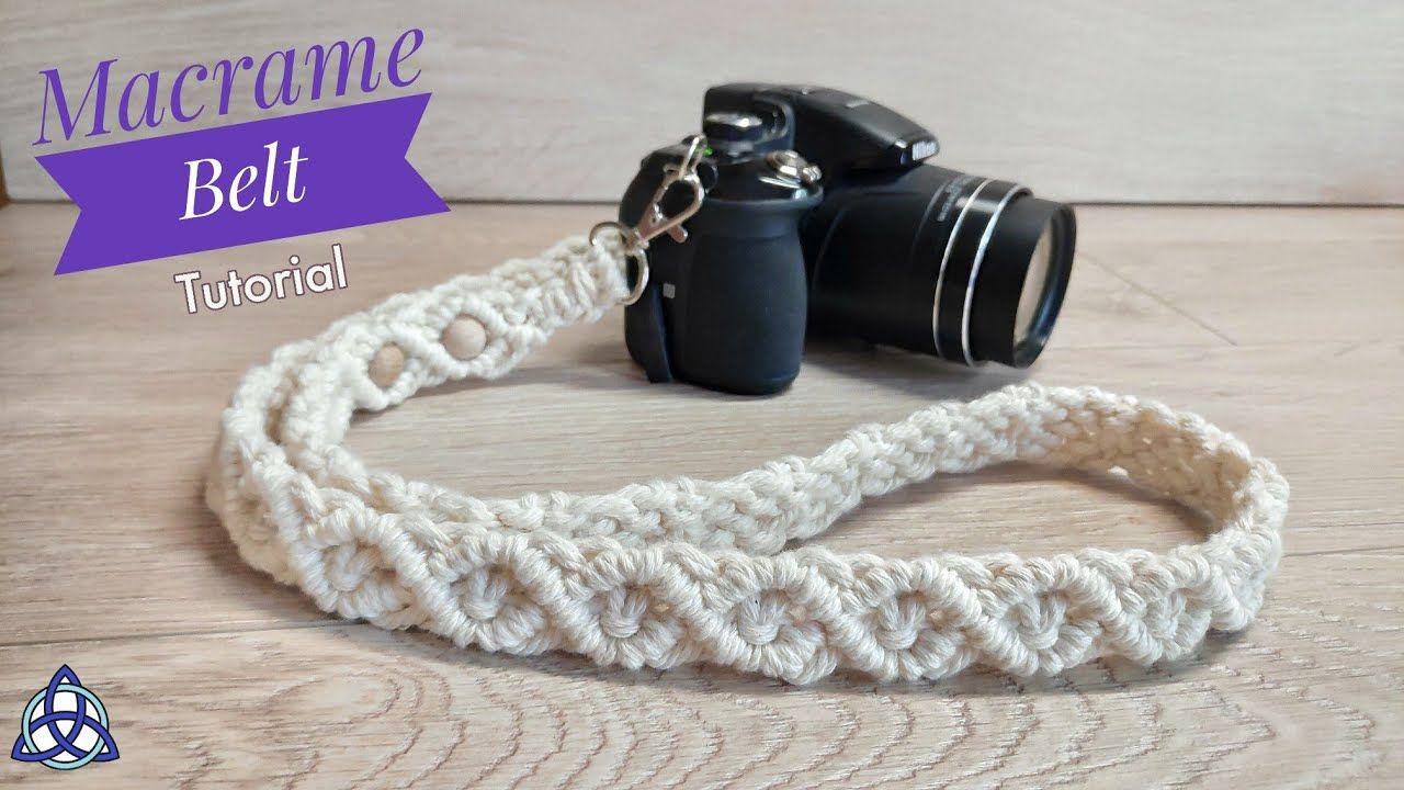 Photo of DIY Macrame Belt Tutorial | Strap For Camera | Belt for Bag