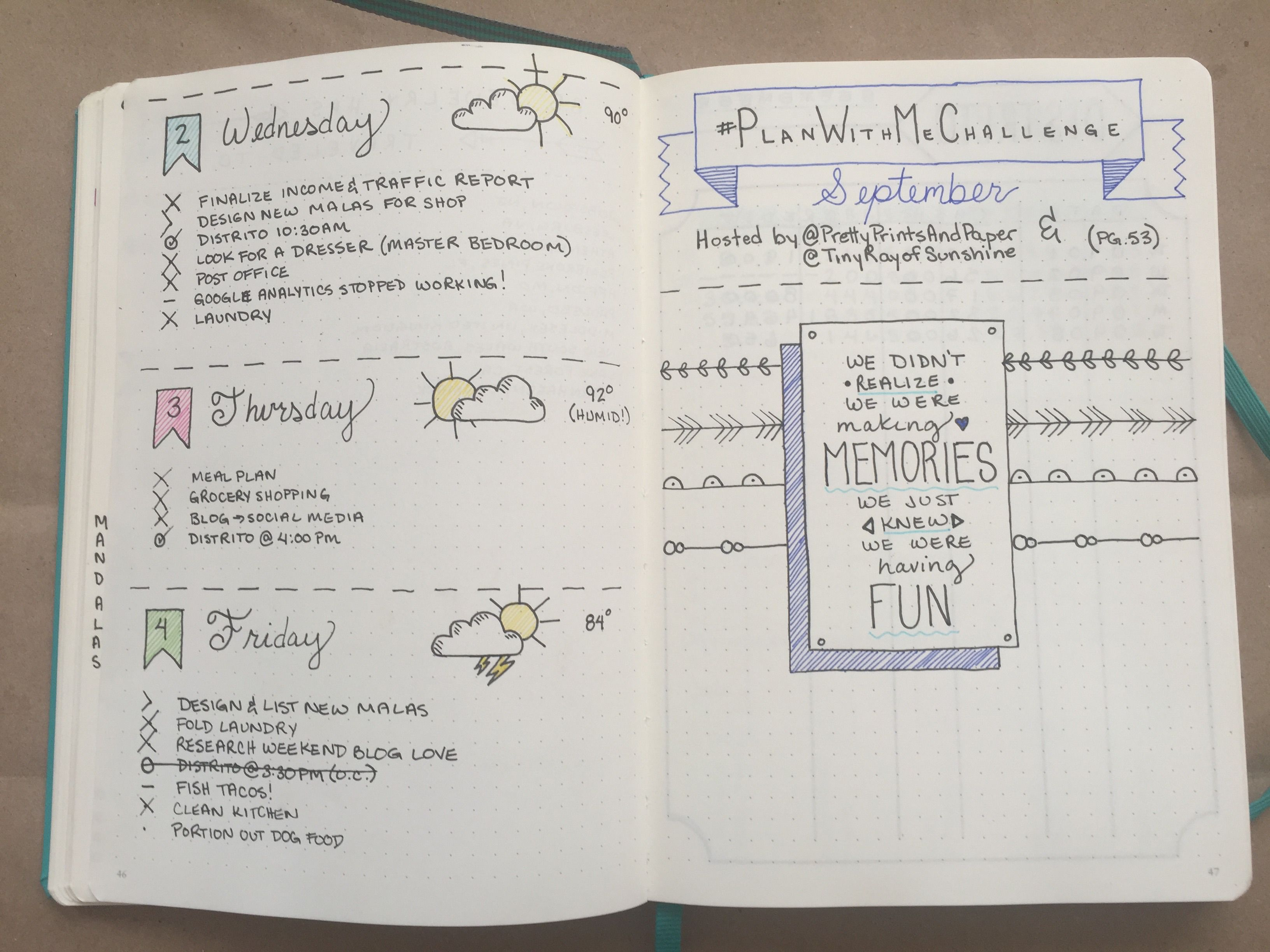 Bullet Journal: One Month Update | Bullet journals, Bullet and Journal