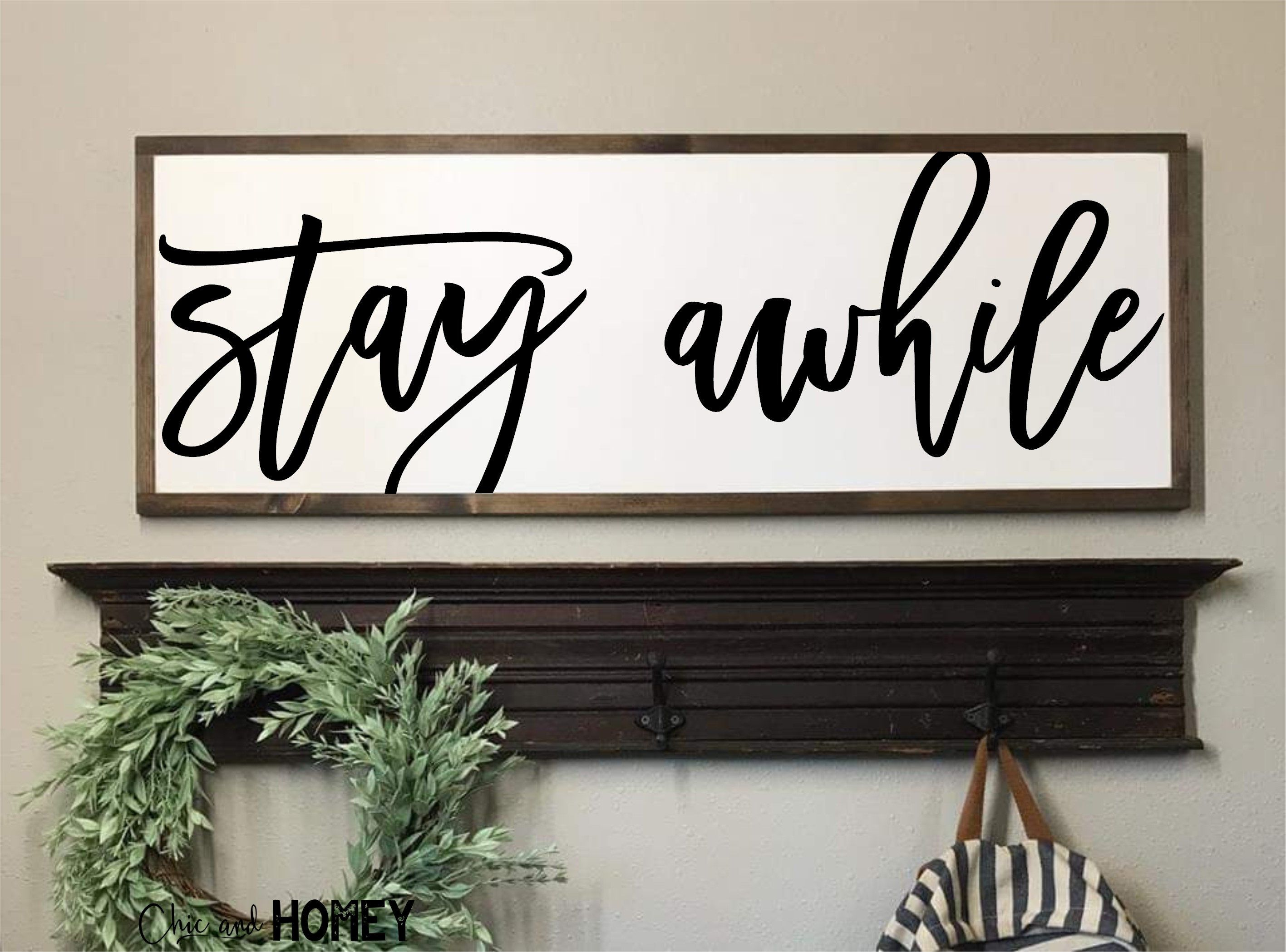10+ Top Wood Signs For Living Room
