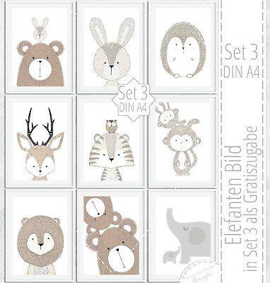 Details zu Kinderzimmer Bilder Kinderbild Babyzimmer Deko