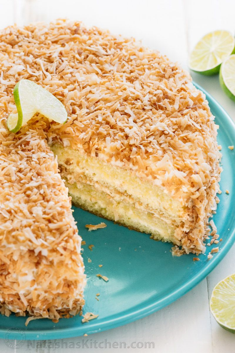 Key lime cake is the ultimate summer party cake. This key lime cake ...