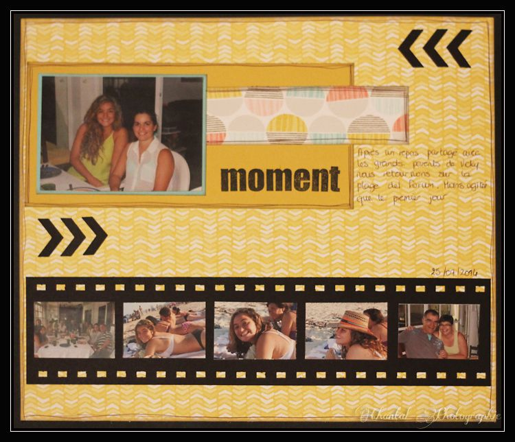 Stampin by Chantal: Album Cancun page (6)