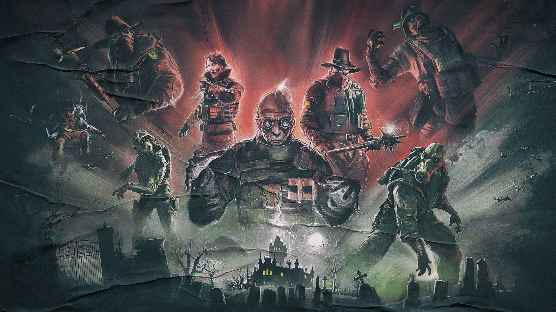 Doktor S Curse With Images Rainbow Six Siege Art Theme Park Map