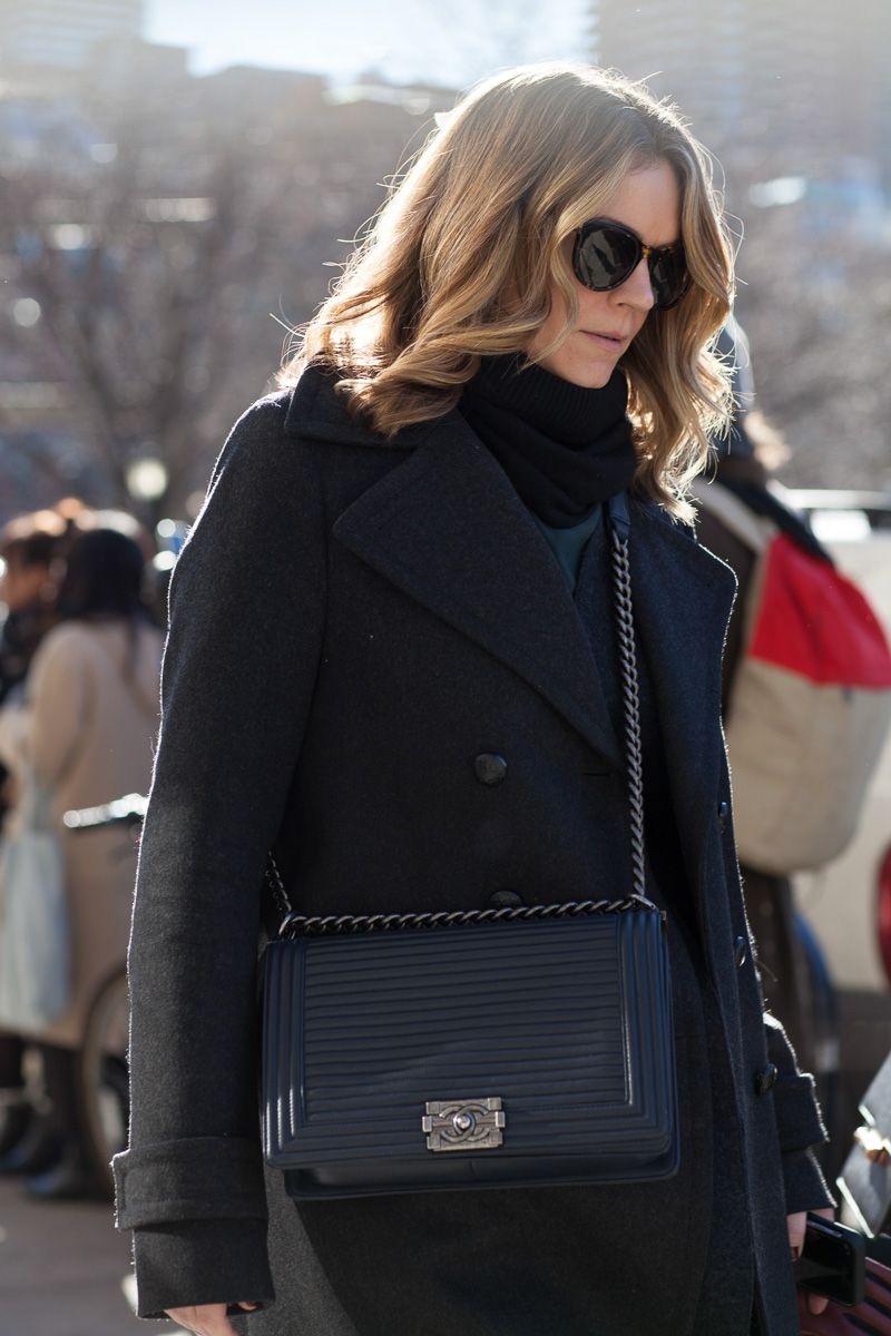 2d2a472fefb The Best Bags of NYFW Fall 2016 Street Style | street style in 2019 ...