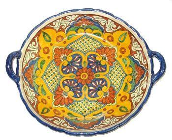 Ceramic plates · Talavera_Platters-Mexican Talavera Tray  Item #100903  sc 1 st  Pinterest & Talavera_Platters-Mexican Talavera Tray : Item #100903   Talavera ...