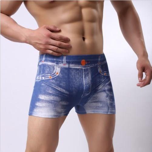 e40ad3707bf Briefs Shorts Bulge New Trunks Sexy Underwear Men s Boxer Briefs Shorts  Bulge Pouch Soft Underpants  9.40