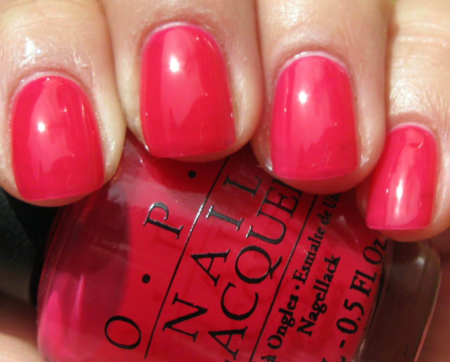Wearing this colour right now... A classic jelly polish! OPI \
