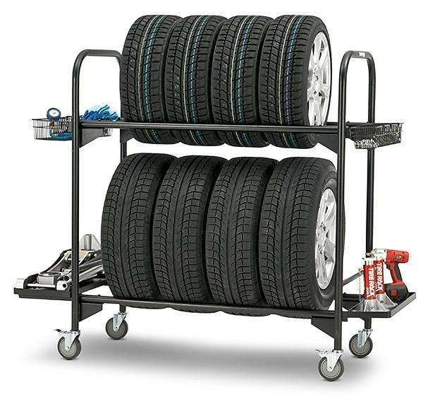 Rolling Tire Storage Rack Captivating Rolling Tire Storage Rack  Pinterest  Tire Rack Storage Rack And