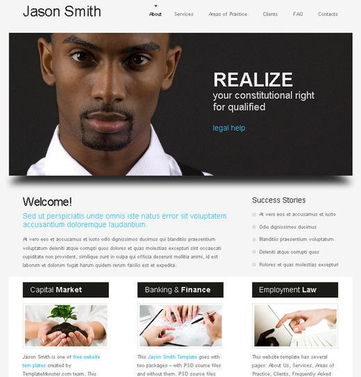 Free Website Templates Html Collection Of 51 Free Html5 And Css3 Templates Photo  Web Info