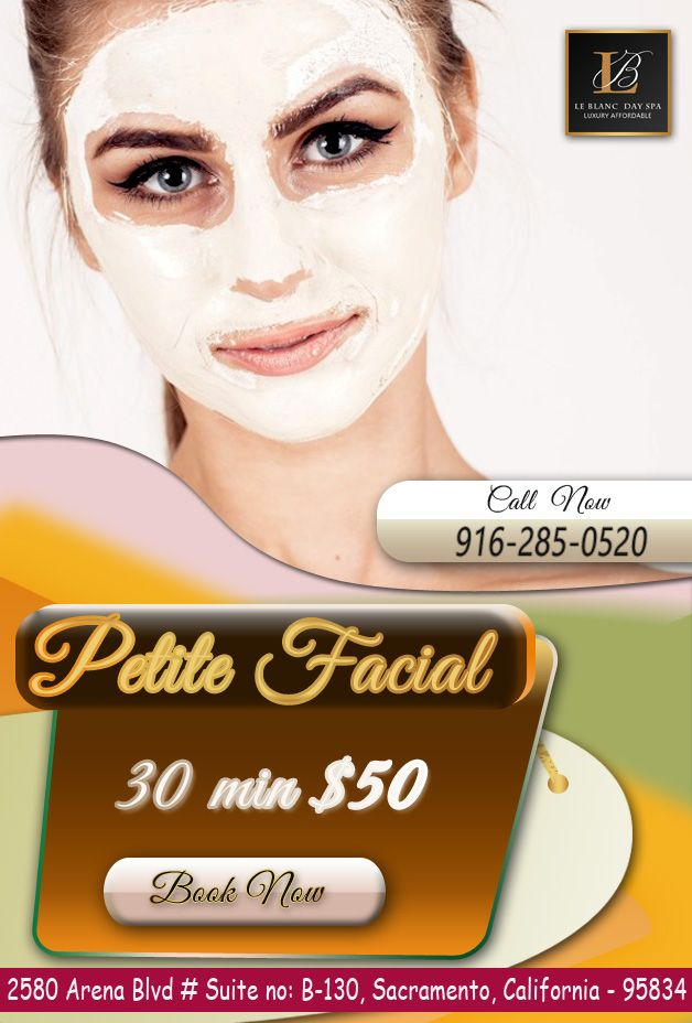 Book Best Facial Services in Sacramento | Facial, Spa and Spa offers