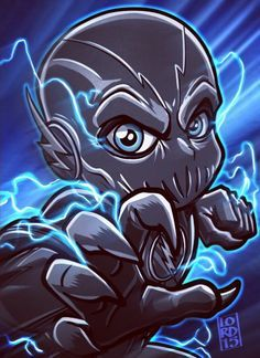 Fan Art Of Zoom From The Flash Team Flash The Flash Dc