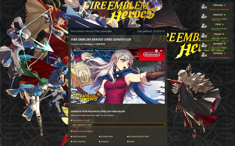 fire emblem heroes orbs hack tool