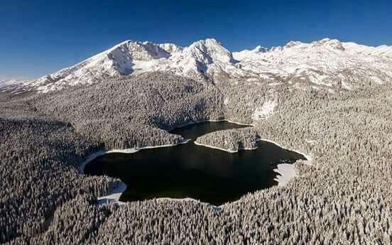 Black Lake in Durmitor, Montenegro.
