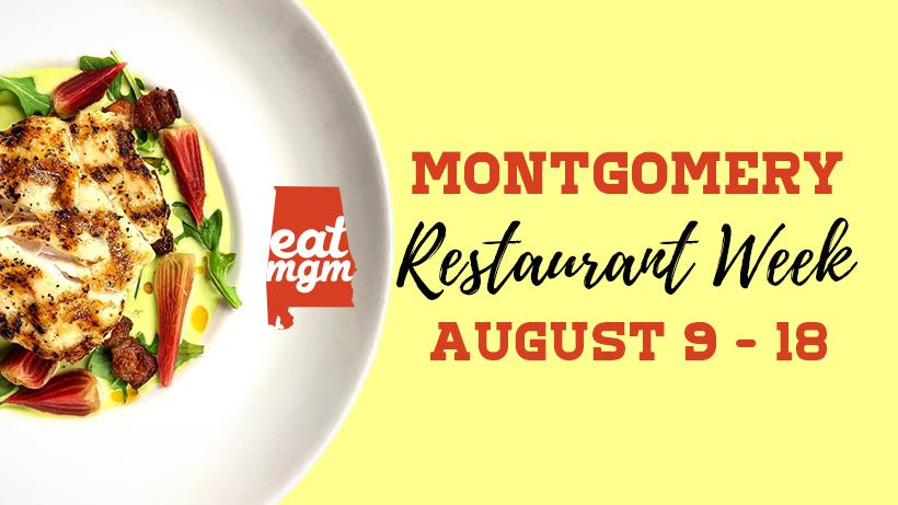 EatMGM Montgomery Restaurant Week Restaurant week