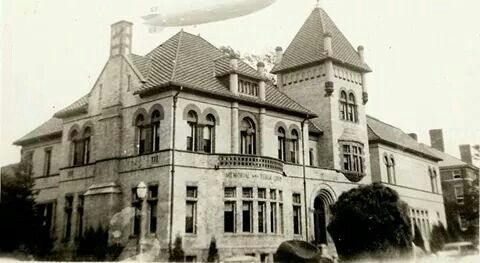 Hindenburg Over Westerly Ri Library On 6 May 1937 Hours Before Her Accident Rhode Island Interesting History Landmarks