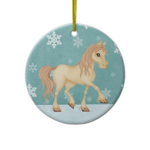 Personalized Horse Christmas Ornament  Our Zazzle Sales