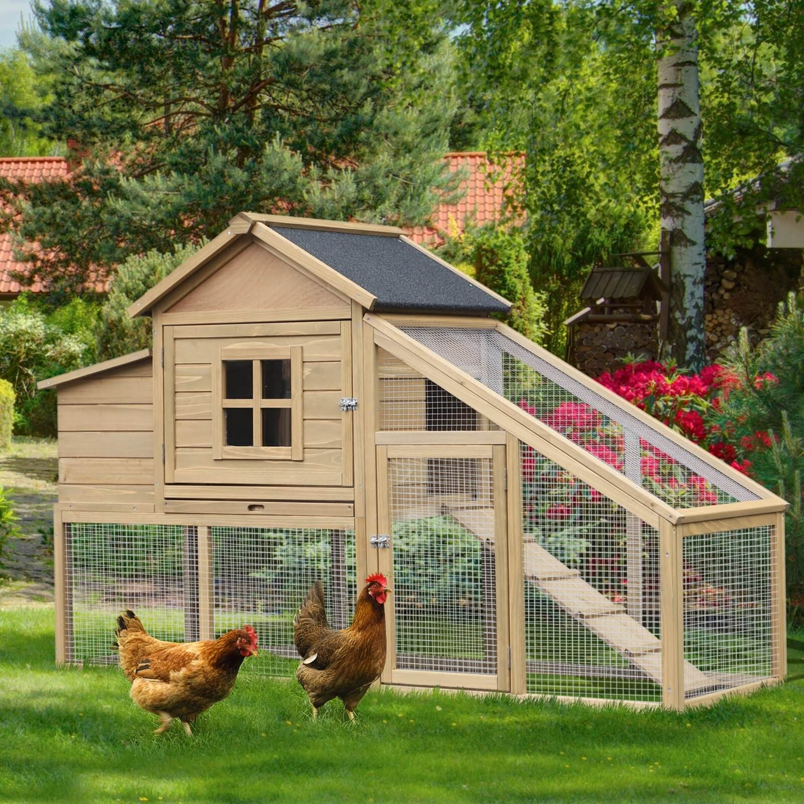 50 Beautiful Diy Chicken Coop Ideas You Can Actually Build Engineering Discoveries Chickens Backyard Backyard Chicken Coops Chicken Diy Backyard chicken house designs