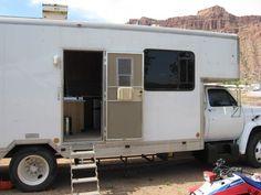 UHaul RV Conversion   handy tricks   Truck Camper, Box van