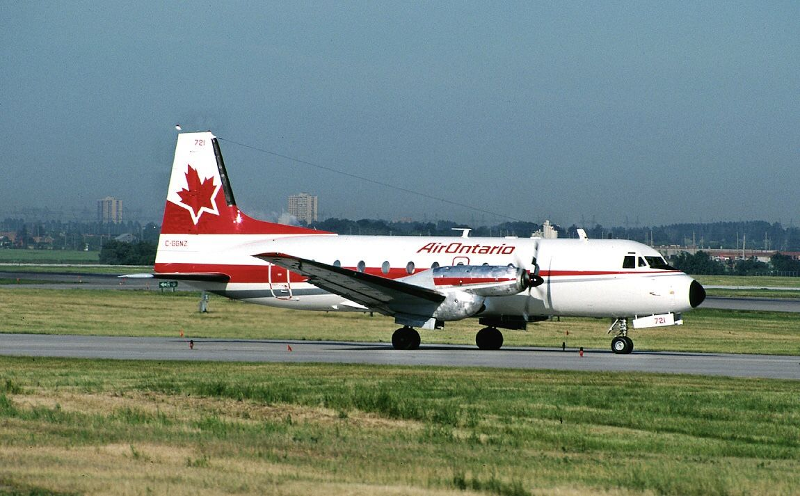 Air ontario canadian airlines air north passenger jet
