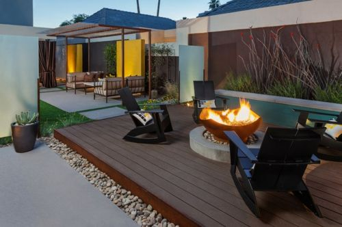 12 tips for modern design in the garden or in the backyard
