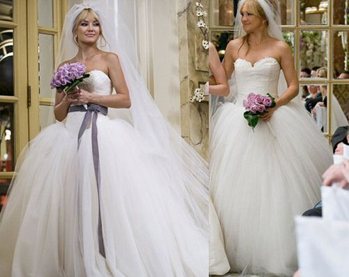 da49d19bd36c vera wang wedding dress that kate hudson wore in bride wars ...