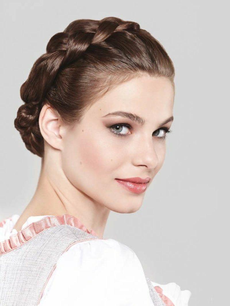 Trachten frisuren haarband