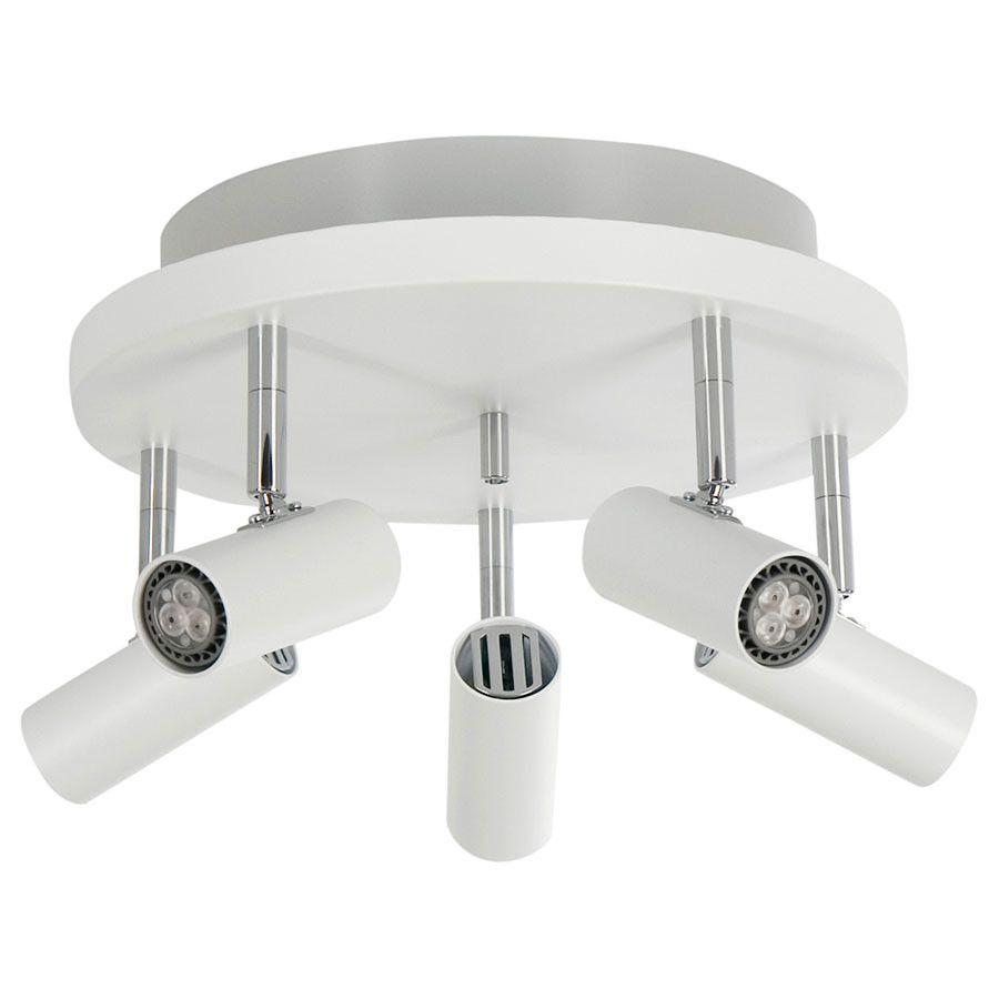 Cato 5 Led Spotlight Rundell M X2f Opplys Spotter Spotter Downlight Innebelysning Designbelysning No Lamper Romme