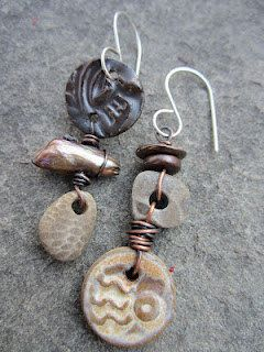 Staci Smith /stacilouise - earrings  http://www.etsy.com/transaction/76996952?