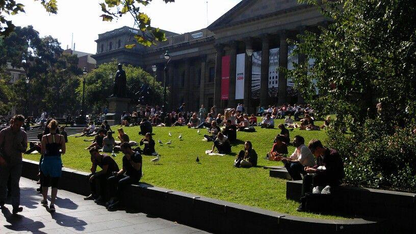 Melbourne public library
