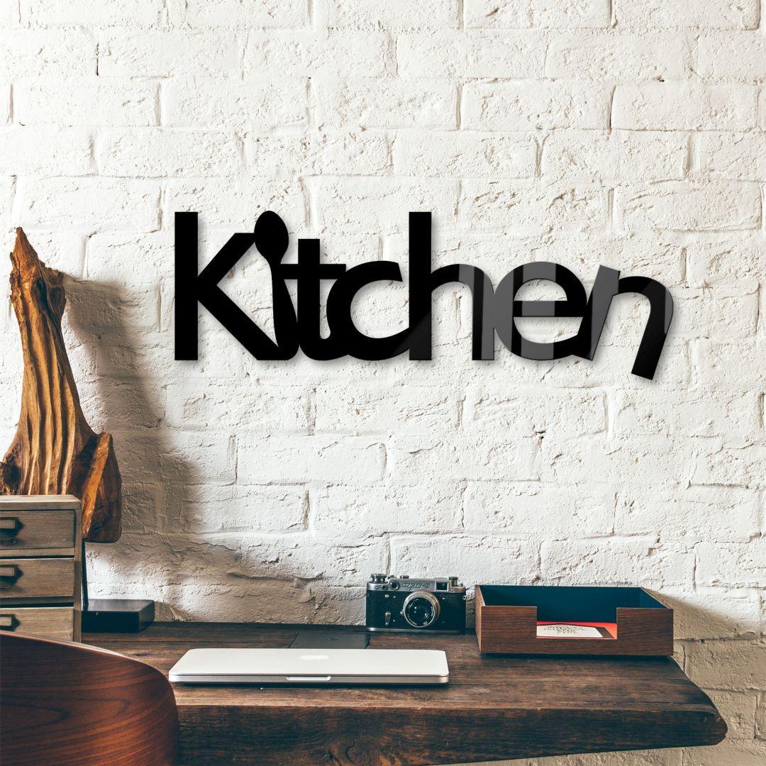 Decoratieletters acrylglas kitchen wallart kitchen