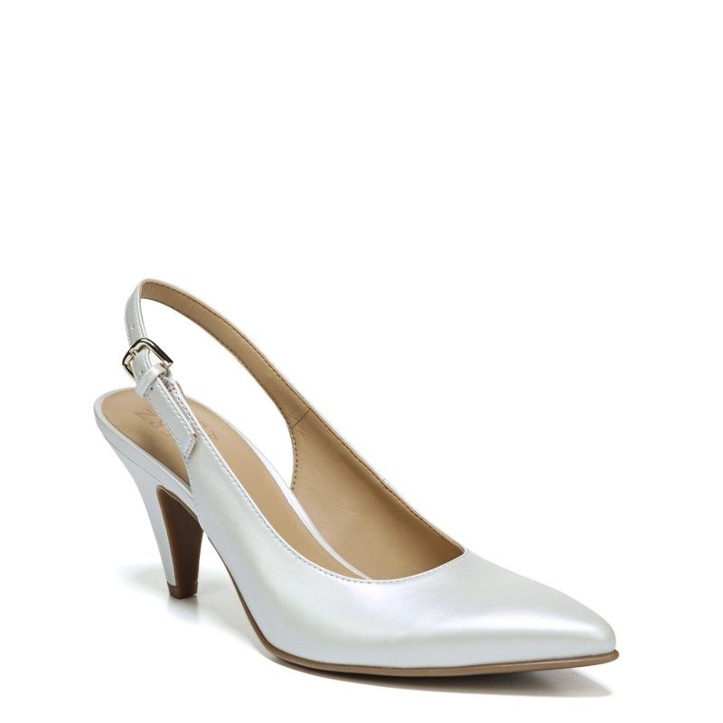 1b8e20ca296 Naturalizer Women s Morgan Medium Wide Pump Shoes (White Pearl)